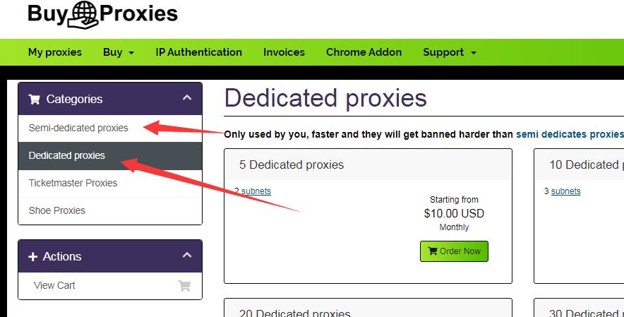 Buyproxies-国外高性价比私人代理IP(Private Proxies)出售商推荐及购买教程