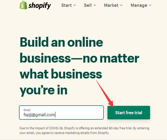 Shopify开店教程之Shopify注册流程及注意事项